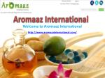 Buy Natural Essential Oils Online at Your Convenience