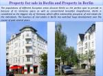 Property for sale in Berlin and Property in Berlin