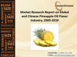 Market Research Report on Global and Chinese Pineapple Oil Flavor Industry Upcoming Years
