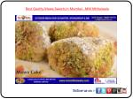 Best Quality Mawa Sweets in Mumbai - MM Mithaiwala