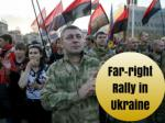 Far-right rally in Ukraine