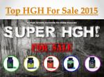 Best HGH Supplement 2015 - How to Chouse One?