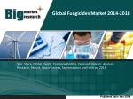 Global Fungicides market to grow at a CAGR of 5.95 percent over the period 2013-2018