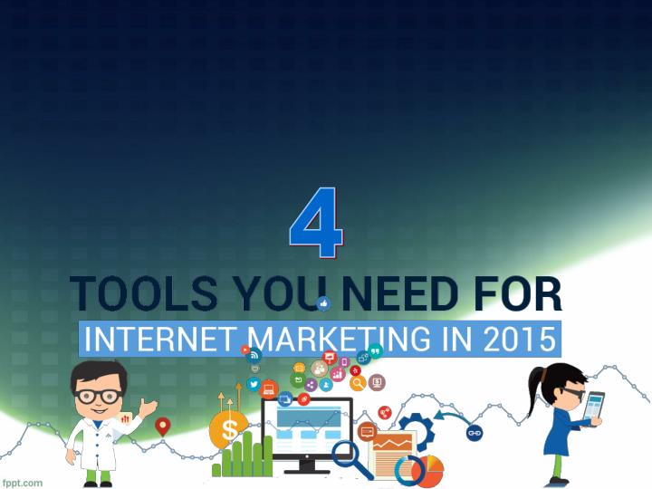 4 tools for online marketing