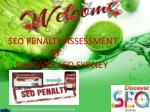 SEO Penalty Assessment Sydney