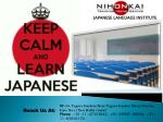 Know What Scope are there in Different Japanese Language Courses