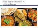 Indian Food Delivery Hamilton NZ - Indian Essence