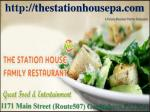 The Station House Family Restaurant - Pocono Restaurant PA