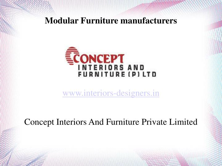 www interiors designers in concept interiors and furniture private limited n.