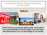 Realy Professional Solutions for Real Estate Agents