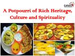 A Potpourri of Rich Heritage, Culture and Spirituality in Gujarat