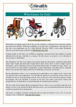 Wheelchair for Sale in Chicago
