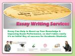 Essay Writing Services, Essay Writing Help