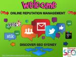 Best Online Reputation Management Company Sydney