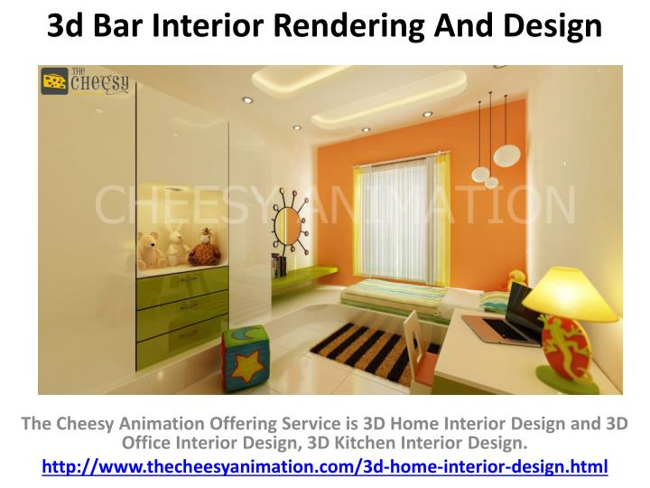 Delicieux 3d Bar Interior Rendering And Design N.