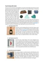 Top 10 Unique Gifts Guide