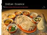 Food Delivery, Dine in and Takeaway Indian Food - Indian Essence