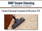 Carpet Cleaning Company In Houston, TX