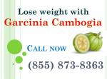 (855) 873-8363 weight loss from garcinia cambogia