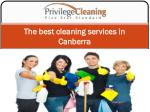 The best cleaning services in Canberra