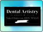 Renowned Dentist at Dental Artistry in Anaheim Hills