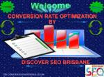 Conversion Rate Optimization Services Brisbane