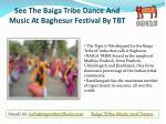 See The Baiga Tribe Dance And Music At Baghesur Festival