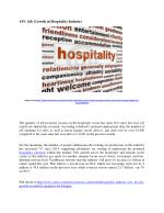 Growth of Job Opportunities in Hospitality Industry