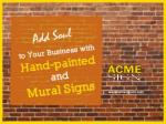 Artful and Classy Outdoor Signs in Kansas City