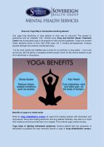 How Can Yoga Help in Alcoholism and Drug Abuse
