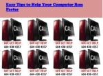 Easy Tips to Help Your Computer Run Faster
