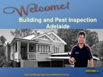 Building Inspection Reports Adelaide