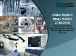 Global Orphan Drugs Market 2014-2018 - Market Trends, Size, Analysis and Forecast