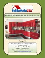 Various ways in which a Kitchen Cabinet Outlet can change the way of living