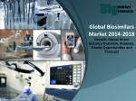 Global Biosimilars Market 2014-2018 - Market Size, Trends, Growth & Forecast