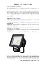 100W LED flood light Manufacturers