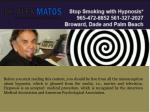 Hypnosis to stop smoking Dade County Florida