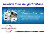 E Commerce Web Development and Design Brisbane