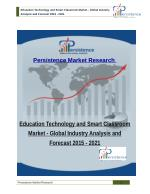 Education Technology and Smart Classroom Market - Global Industry Analysis and Forecast 2015 - 2021