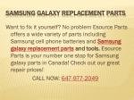 Samsung Galaxy Repairs Mississauga| Samsung Galaxy Replacement Parts| Samsung Repair Mississauga