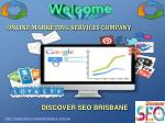 Online Marketing Services Company Brisbane