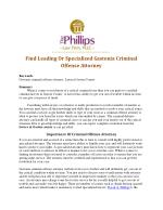 Find Leading Or Specialized Gastonia Criminal Offense Attorney