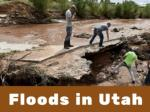 Flash floods hit Utah