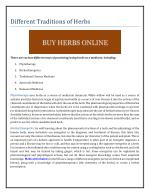 Different Traditions of Herbs.pdf