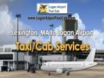 Lexington, MA to Logan Airport taxi/cab Services