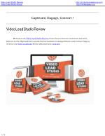 Video lead studio review | video lead studio bonus.