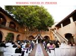 WEDDING VENUES IN PHOENIX