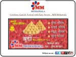 Celebrate Ganesh Festival with Tasty Sweets - MM Mithaiwala