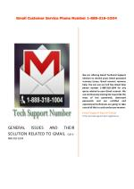 Gmial Account Recovery Phone Number 1-888-318-1004