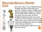 Replica Trophies – Vince Lombardi, World Series and Larry O Brien Trophy